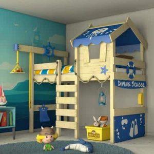 lit mezzanine cabane pour enfant