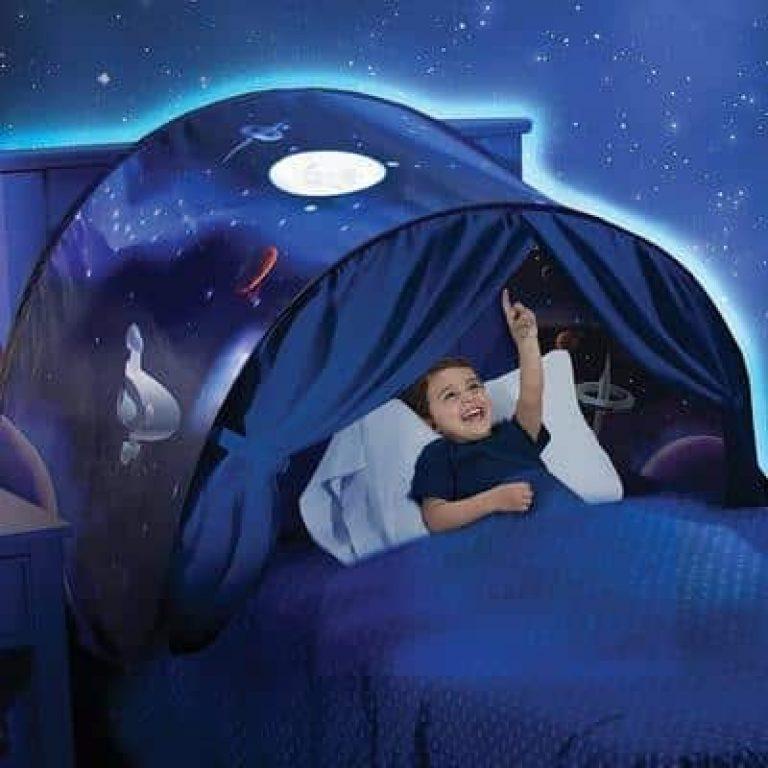 Une tente de lit pop-up garçons