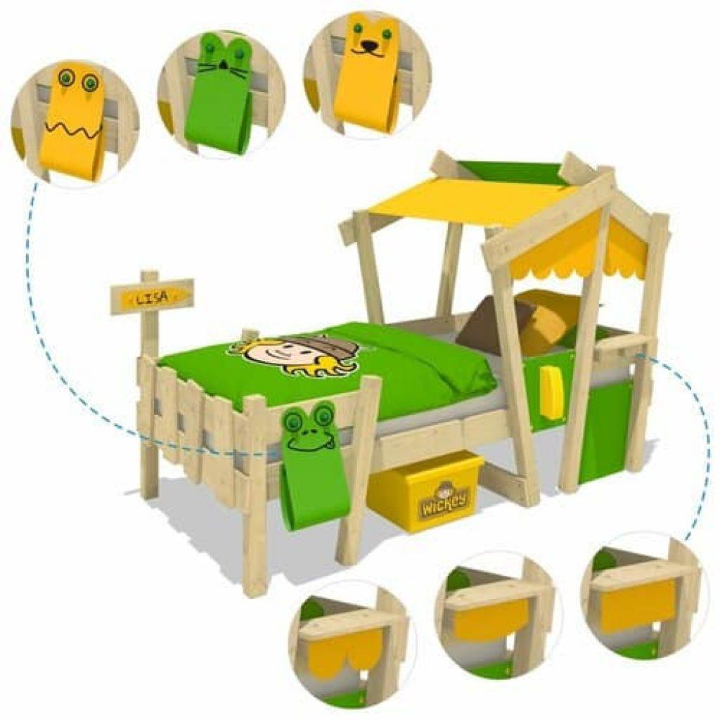 Les équipements de jeux du lit cabane enfant