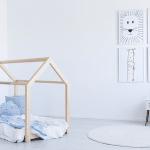 lit cabane en bois