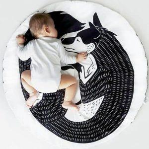 tapis de sol bébé pour lit Montessori