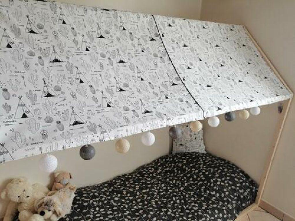 Diy Lit Cabane 90X190 découvrez comment décorer un lit de rêve pour enfant avec le