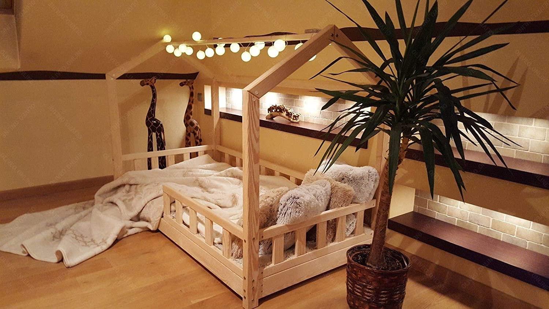 Lit Au Sol Montessori Quel Age le lit au sol bébé montessori d'oliveo | test & avis | lit