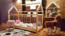 Le lit cabane bébé Dalia d'Oliveo