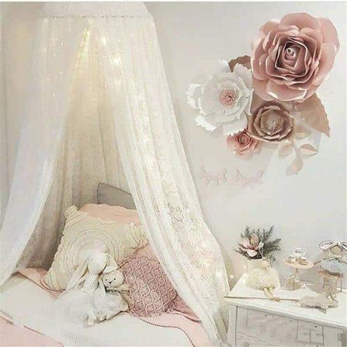 Ciel de lit fille pour lit enfant