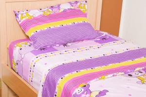 Parure de lit enfant pour filles